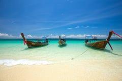 Sabbia di Sun del mare a Phi Phi Island Fotografia Stock Libera da Diritti