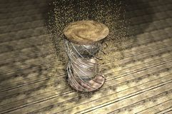 Sabbia di tempo Immagini Stock