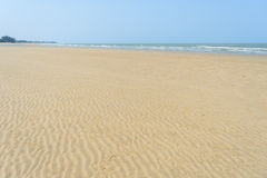 Sabbia di una spiaggia fotografia stock