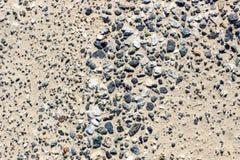 Sabbia e ciottoli Fotografia Stock Libera da Diritti