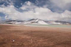 Sabbia e ghiaccio Fotografia Stock