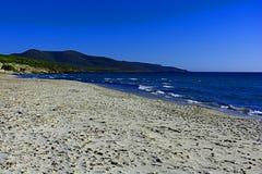 Sabbia e mare Fotografie Stock