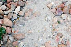 Sabbia e pietra Fotografia Stock Libera da Diritti