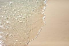 Sabbia e spiaggia Immagini Stock