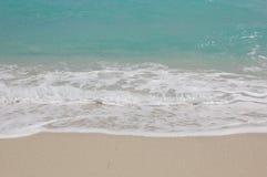 Sabbia ed acqua Fotografie Stock