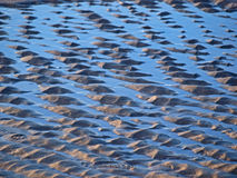 Sabbia ed acqua Fotografia Stock Libera da Diritti