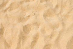 Sabbia fine della spiaggia nel sole di estate Fotografia Stock