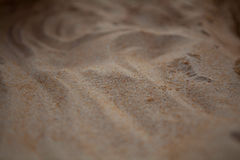 Sabbia. Fine in su. immagini stock libere da diritti