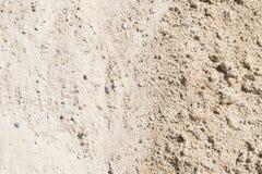 Sabbia, ghiaia, ciottoli e miscela di calcestruzzo fotografia stock libera da diritti