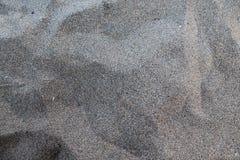 Sabbia grigia fotografia stock
