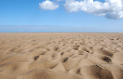 Sabbia increspata Immagini Stock