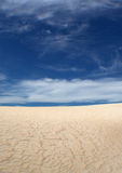 Sabbia increspata Fotografia Stock