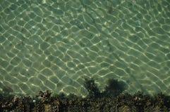 Sabbia luccicante e fondo del mare Fotografia Stock Libera da Diritti