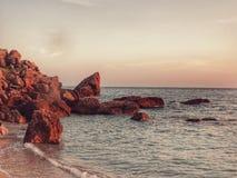 Sabbia minuscola Fotografia Stock