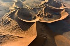 Sabbia Namibia marina di Namib Immagini Stock Libere da Diritti