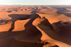 Sabbia Namibia marina di Namib Fotografia Stock