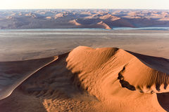 Sabbia Namibia marina di Namib Immagine Stock Libera da Diritti