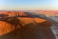 Sabbia Namibia marina di Namib Fotografia Stock Libera da Diritti