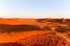 Sabbia Namibia marina di Namib Fotografie Stock
