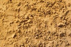 Sabbia naturale Immagine Stock Libera da Diritti