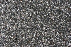 Sabbia nera come priorità bassa Fotografia Stock