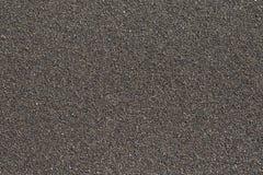 Sabbia nera dell'oceano Immagine Stock Libera da Diritti