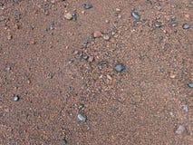 Sabbia rossa della spiaggia di Maui Fotografia Stock