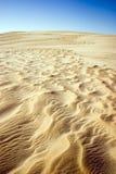 Sabbia saltata vento Immagine Stock Libera da Diritti