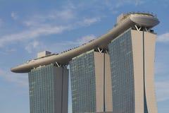 Sabbia @ Singapore della baia del porticciolo Immagini Stock Libere da Diritti