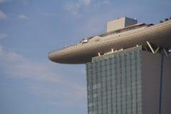 Sabbia @ Singapore della baia del porticciolo Immagini Stock