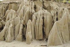 Sabbia sotto forma dei fantasmi Immagine Stock Libera da Diritti
