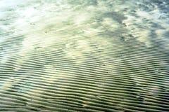 Sabbia a strisce bagnata Fotografia Stock Libera da Diritti