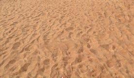 Sabbia su una spiaggia Fotografia Stock