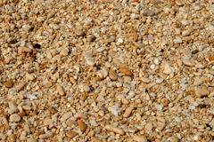 Sabbia sulla spiaggia Immagine Stock Libera da Diritti
