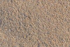 Sabbia sulla spiaggia alla spiaggia del kalim a phuket Immagini Stock Libere da Diritti