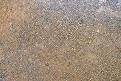 Sabbia a terra Immagini Stock Libere da Diritti