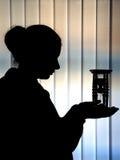 Sabbia-vetro Fotografia Stock Libera da Diritti