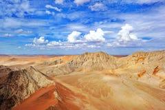 Sabbie del deserto di Namib Fotografie Stock