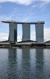 Sabbie della baia del porticciolo a Singapore. Fotografia Stock Libera da Diritti