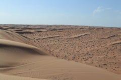 Sabbie di Wahiba (Sharqiya) Fotografie Stock