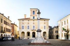 "SABBIONETA †""MANTUA †""WŁOCHY †""LUTY 18, 2019: Ducal pałac w Sabbioneta, Mantua, Lombardy fotografia royalty free"
