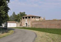 Sabbioneta, het gebied van Lombardije, Italië Stock Afbeelding
