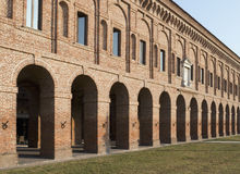 Sabbioneta, Lombardía, Italia imagenes de archivo