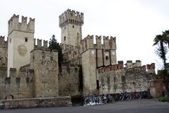 Sabbioneta Schloss Stockfotografie