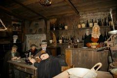 The Sabbioni Nativity - Crema, Lombardia, Italy. Stock Image