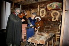 The Sabbioni Nativity - Crema, Lombardia, Italy. Royalty Free Stock Photography