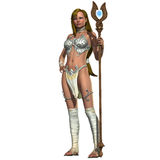 Sabby Lessa Woman Warrior Royalty Free Stock Image