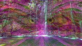 Sabedoria da cachoeira Imagens de Stock Royalty Free
