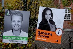 SABEENA SAREEN_CANDIDATE DE PARTI LIBÉRAL D'ALLIANCE Photos stock