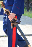 Saber Cossack Στοκ Φωτογραφίες